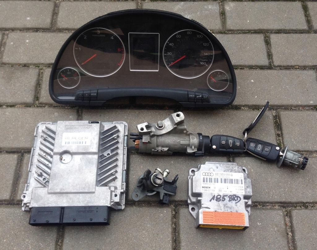 запчасти блок управления Audi A4 B7 2004 2007 разборка купить в
